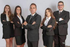 Advogado Diego Idalino Ribeiro e equipe