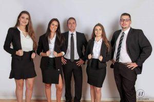 Diego Idalino Ribeiro e equipe de advogados